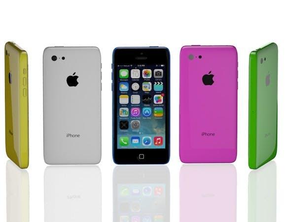Apple iPhone 5C - 3DOcean Item for Sale