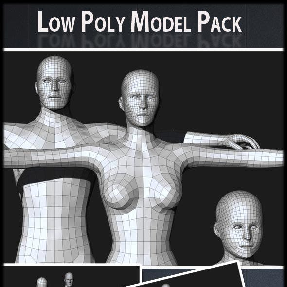 Low Poly Model Pack