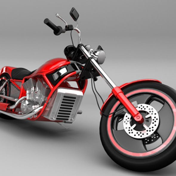 Motorcycle Harley Style