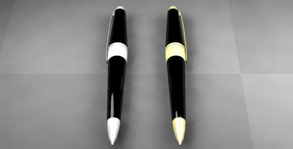 Pen - 3DOcean Item for Sale