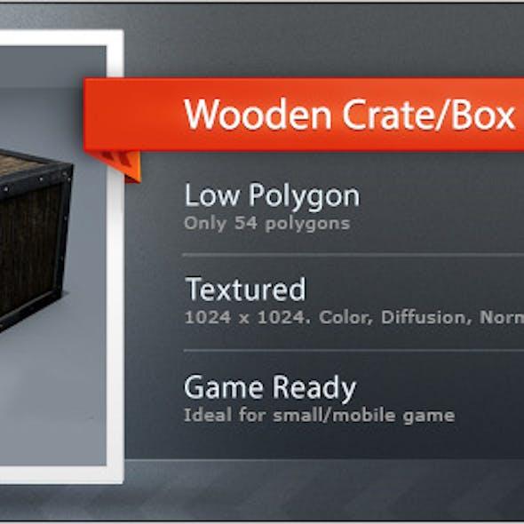 Wooden Crate/Box L1