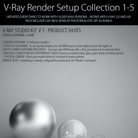 V-Ray Render Setup Collection 1-5