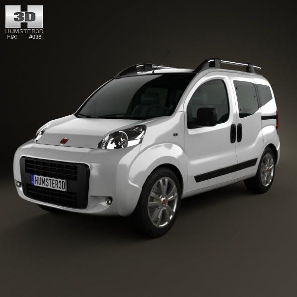 Fiat Fiorino Cubo 2011 - 3DOcean Item for Sale