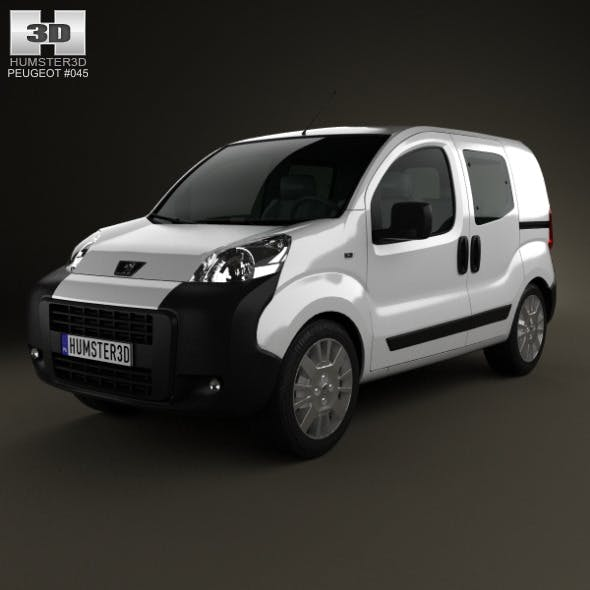 Peugeot Bipper Tepee Combi 2011 - 3DOcean Item for Sale