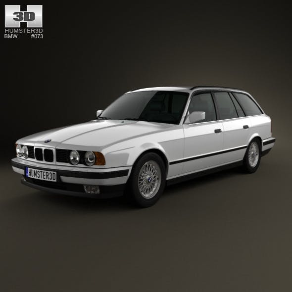 BMW 5 Series touring (E34) 1993 - 3DOcean Item for Sale