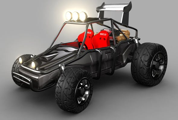 High Quality Buggy Buggy - 3DOcean Item for Sale