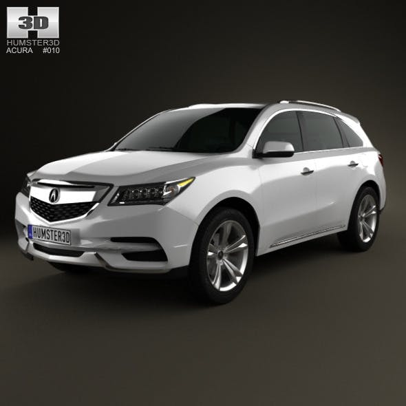 Acura MDX 2014 - 3DOcean Item for Sale