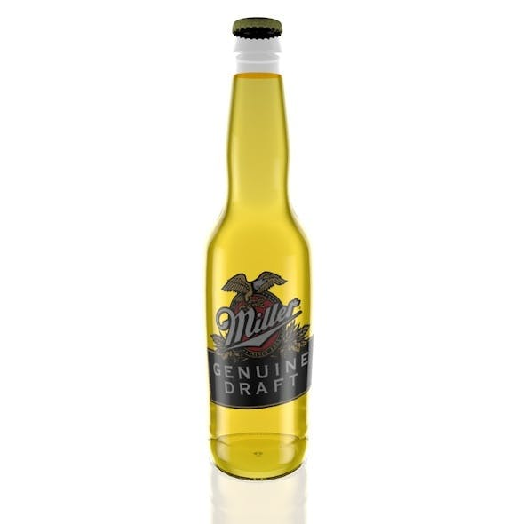Miller Beer Bottle