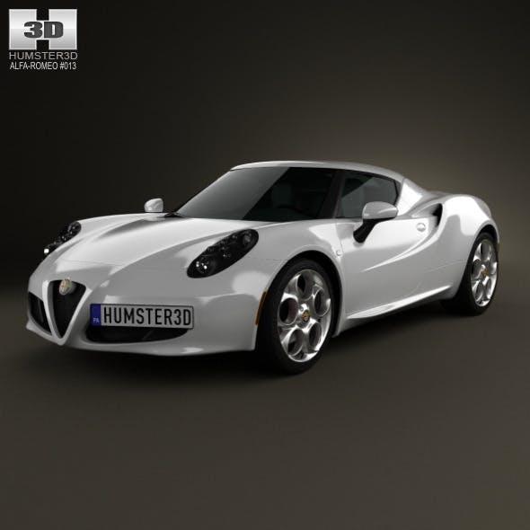 Alfa Romeo 4C 2014 - 3DOcean Item for Sale