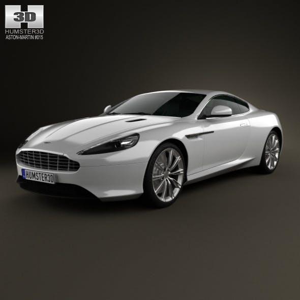 Aston Martin DB9 2013 - 3DOcean Item for Sale