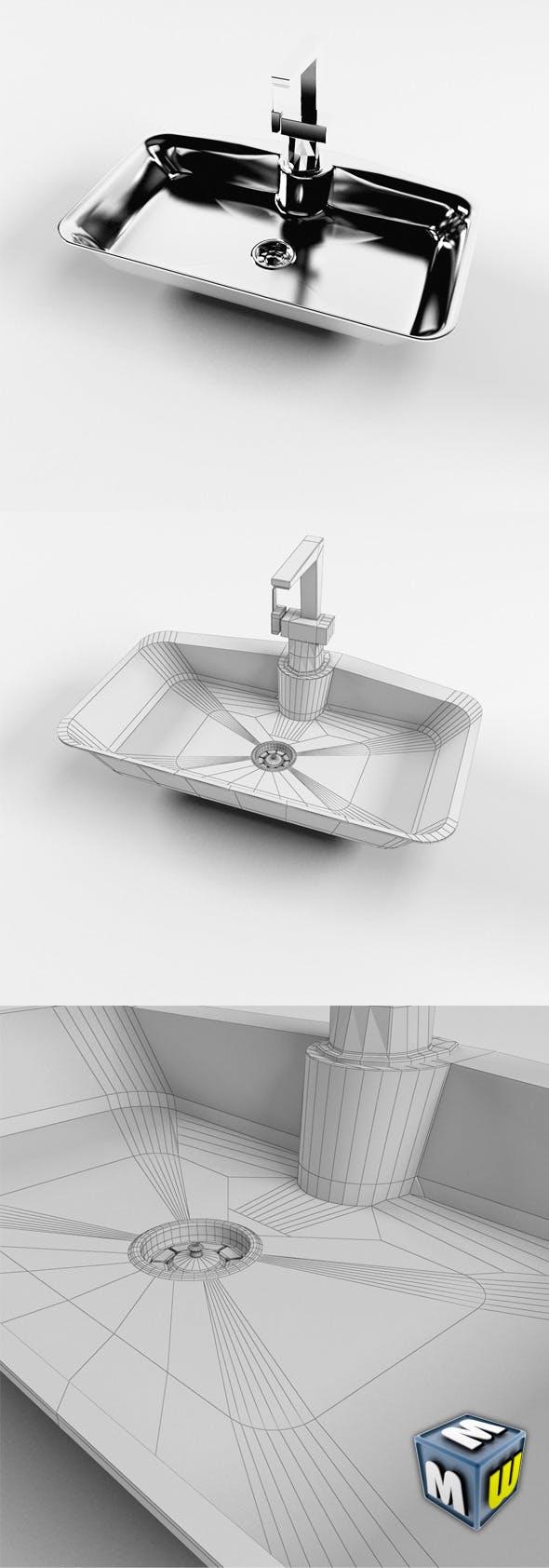 Sink MAX 2011 - 3DOcean Item for Sale