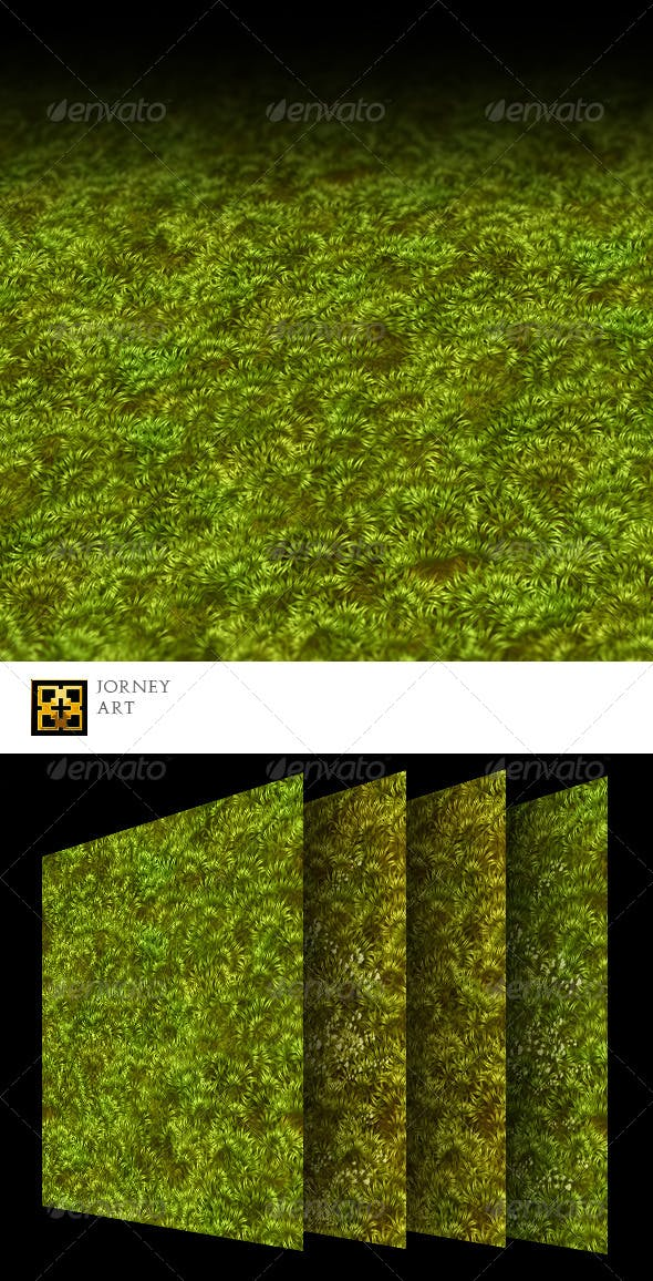 Grass Texture Collection - 3DOcean Item for Sale