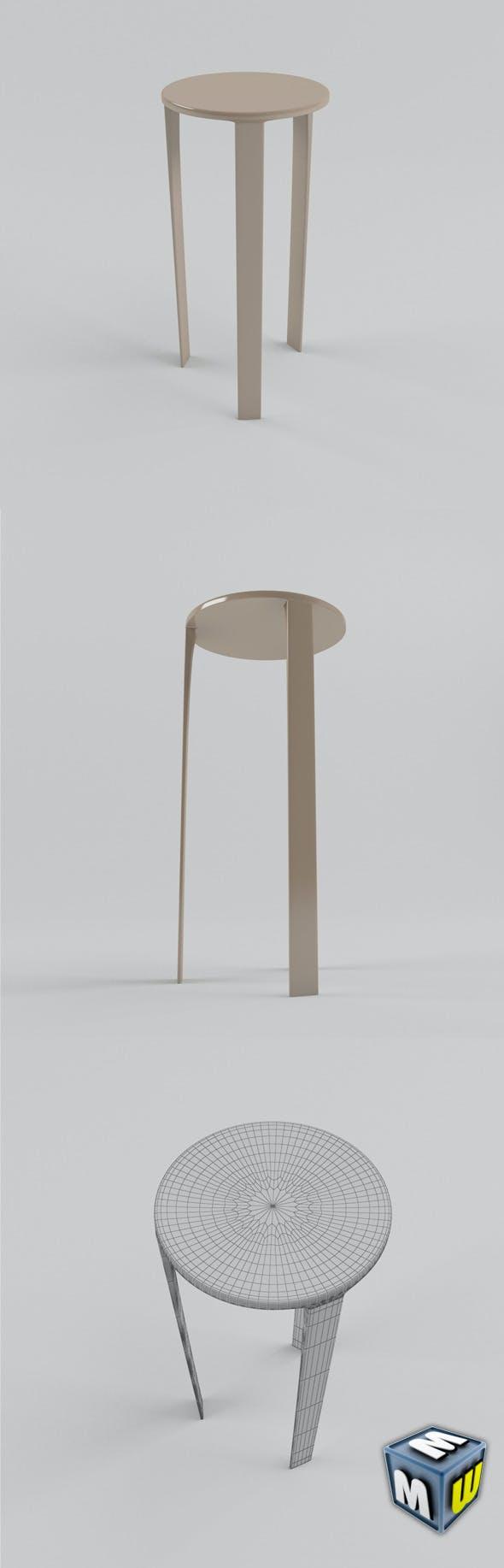 Stool MAX 2011 - 3DOcean Item for Sale