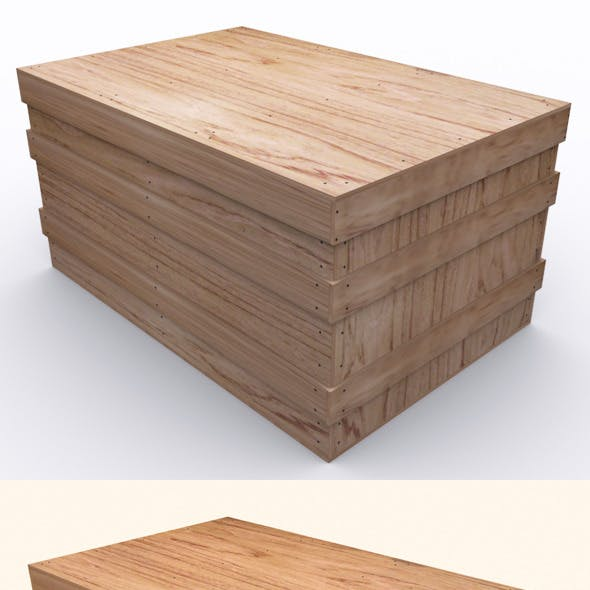 "Wooden Case ""BOX"""