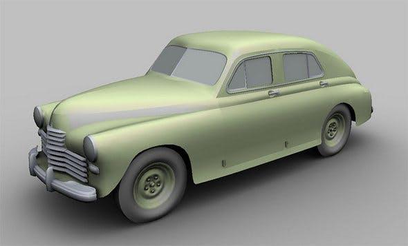 "GAZ M20 ""Pobeda"" - 3DOcean Item for Sale"
