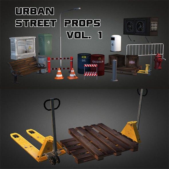 Urban Street Props Vol 1