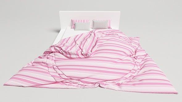 Bed Design - 1 (VRAYforC4D) - 3DOcean Item for Sale
