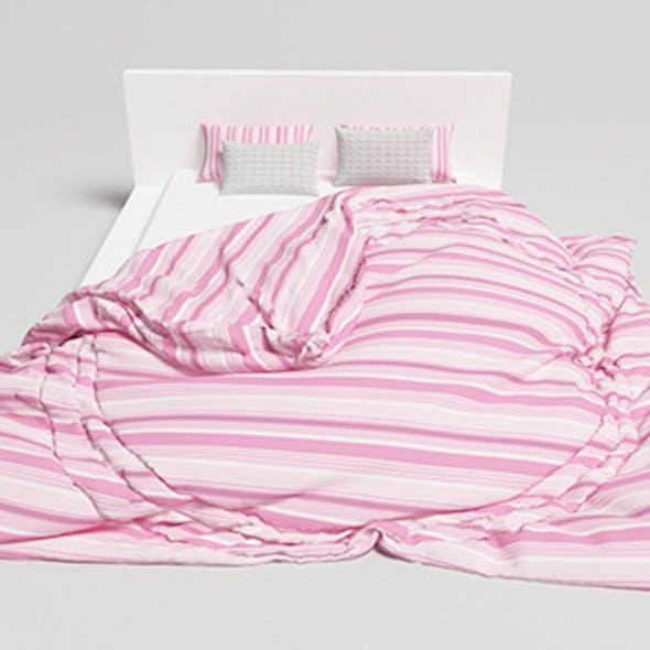Bed Design - 1 (VRAYforC4D)