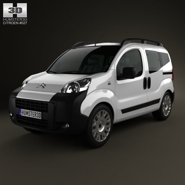Citroen Nemo Multispace 2011 - 3DOcean Item for Sale