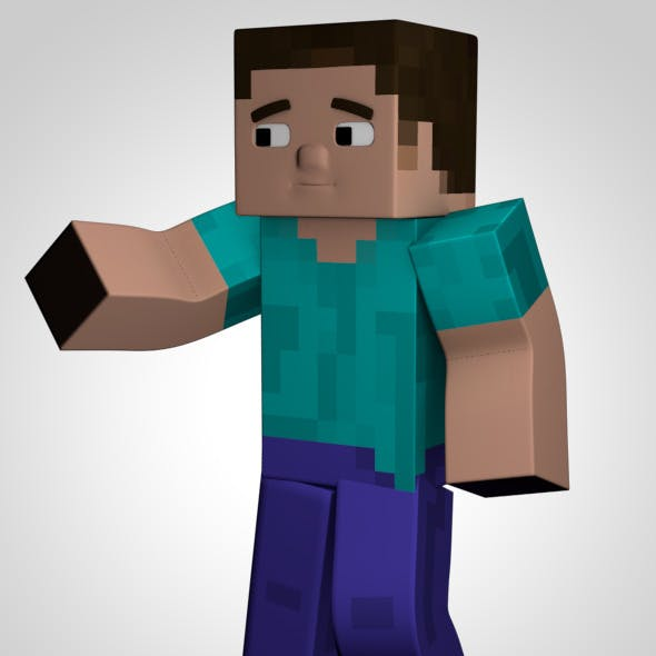 Minecraft Character Model