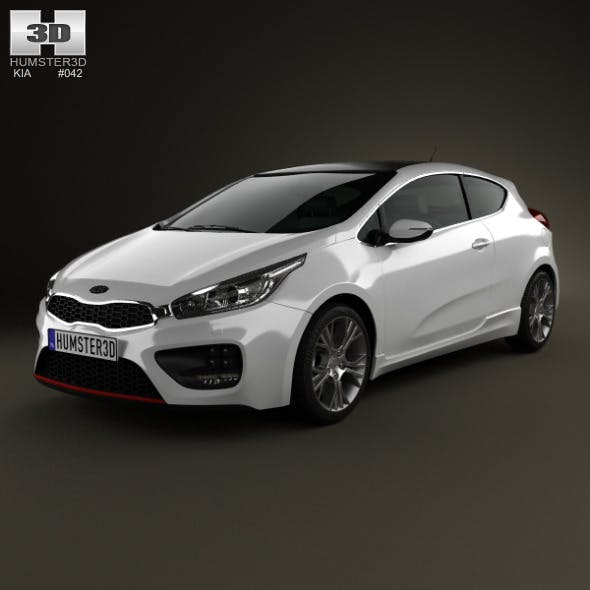 Kia Pro Ceed GT 2014 - 3DOcean Item for Sale
