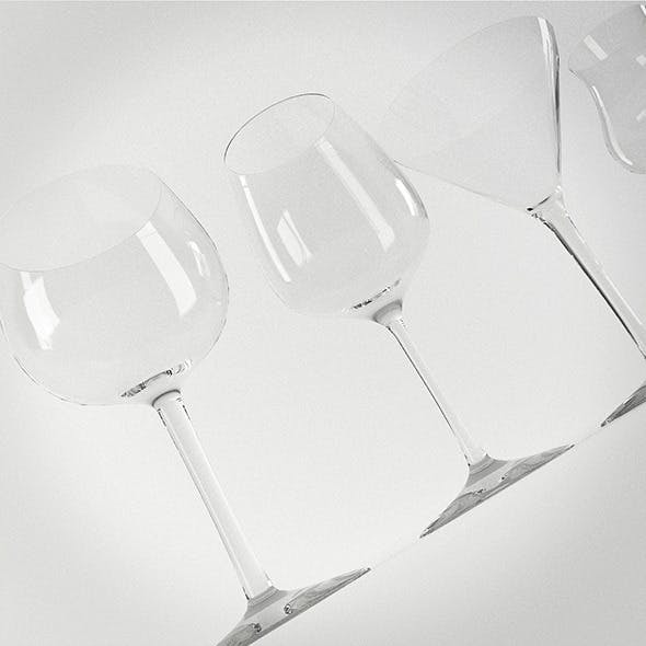 Photo-real Glass Collection - 3DOcean Item for Sale