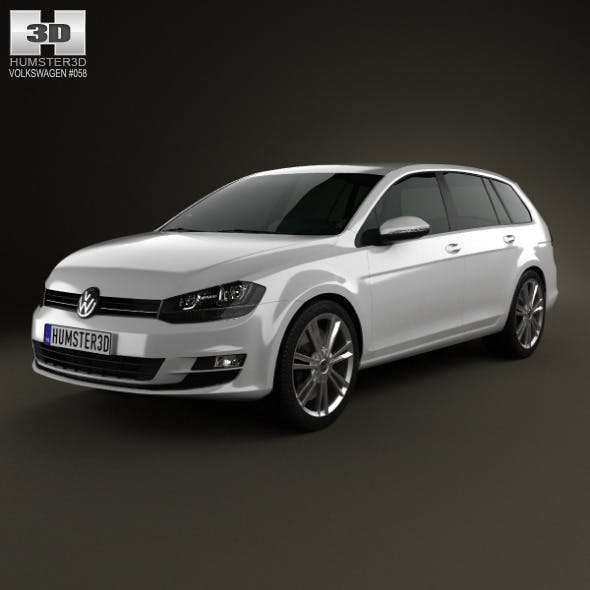Volkswagen Golf Mk7 variant 2014