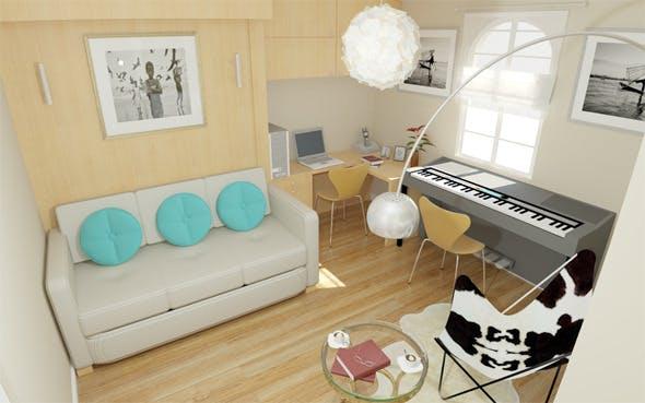 Interior / Bedroom / Bathroom - 3DOcean Item for Sale
