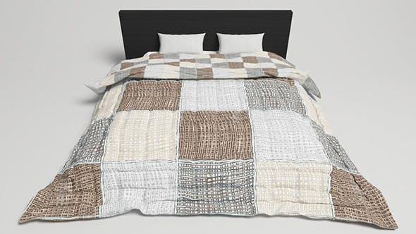 Bed Design - 2 (VRAYforC4D) - 3DOcean Item for Sale