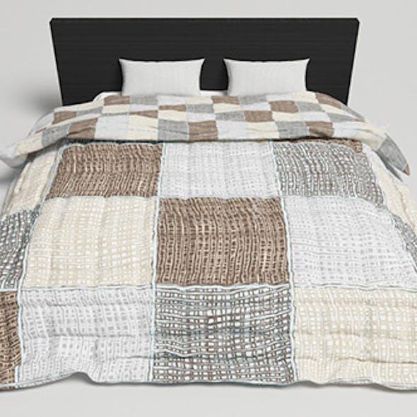 Bed Design - 2 (VRAYforC4D)