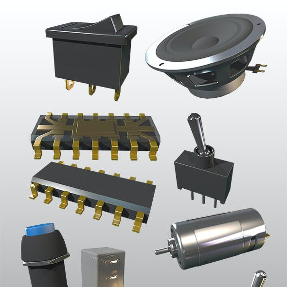 Bunch of Electrical Parts (PACK)