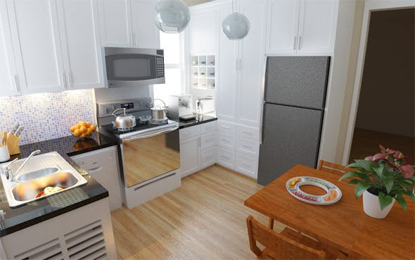Interior / Kitchen - 3DOcean Item for Sale