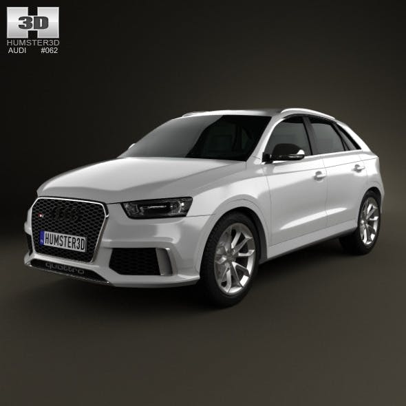 Audi RS Q3 2013 - 3DOcean Item for Sale