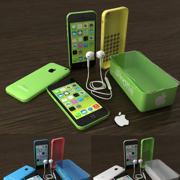 IPhone 5C All Color and Accesories