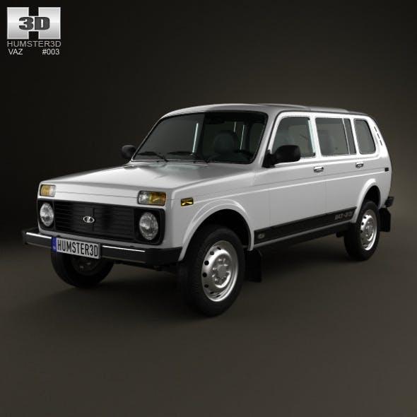 Lada Niva 4×4 2131 2012 - 3DOcean Item for Sale