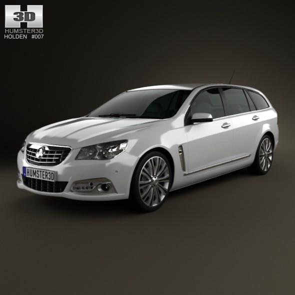 Holden VF Commodore Calais V sportwagon 2013 - 3DOcean Item for Sale