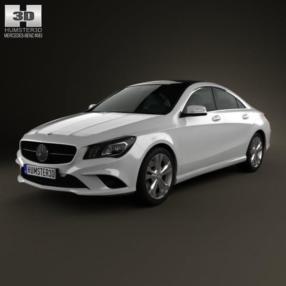 Mercedes-Benz CLA-Class (C117) 2013 - 3DOcean Item for Sale