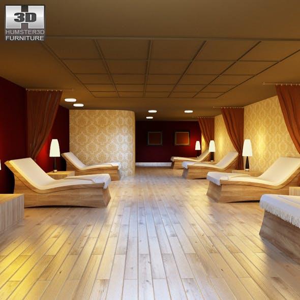Rest room 01 Set  - 3DOcean Item for Sale