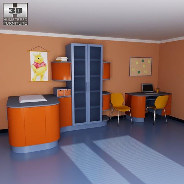 Nursery room 08 Set  - 3DOcean Item for Sale