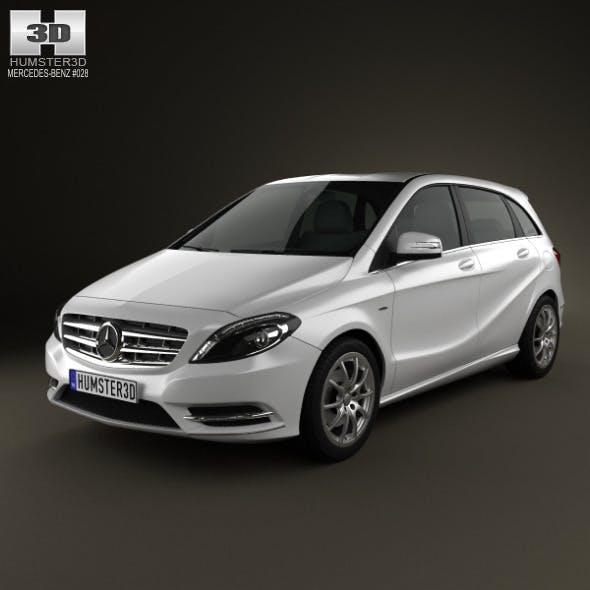 Mercedes-Benz B-class 2012 - 3DOcean Item for Sale