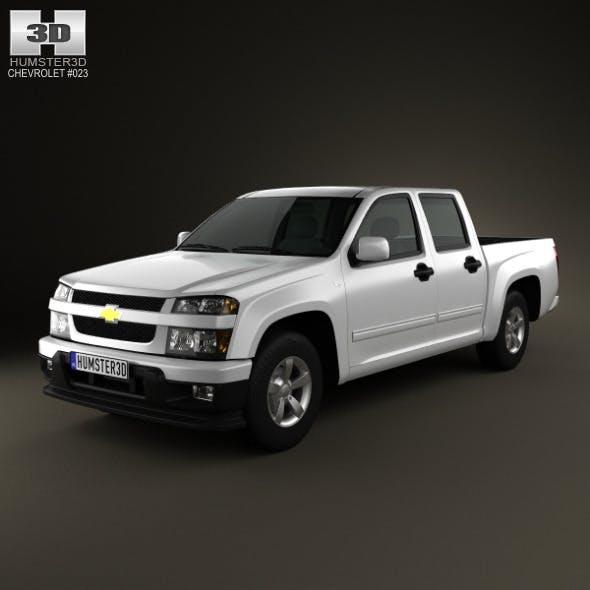 Chevrolet Colorado CrewCab 2012 - 3DOcean Item for Sale