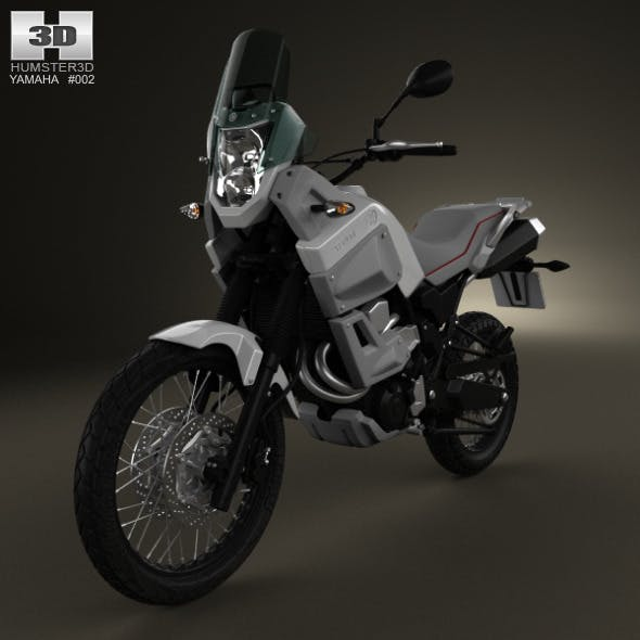 Yamaha XT660Z Tenere 2012 - 3DOcean Item for Sale
