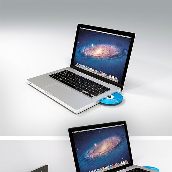 Realistic Mac-book