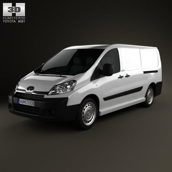 Toyota ProAce Van L2H1 2012 - 3DOcean Item for Sale