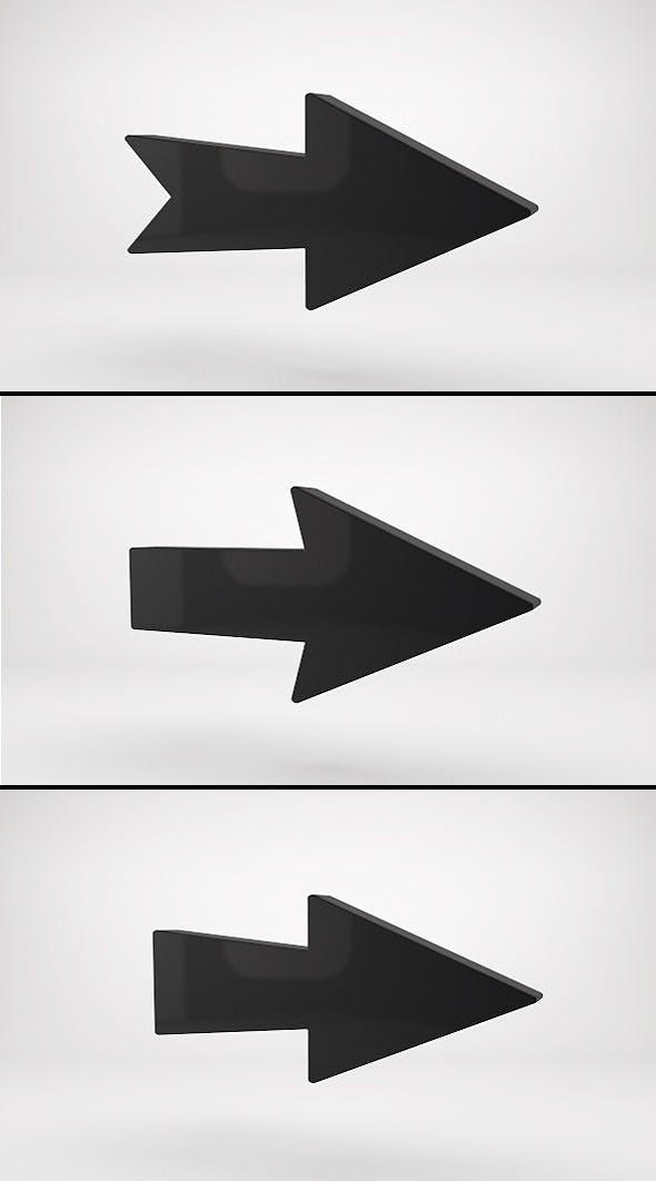 Arrows - 3DOcean Item for Sale