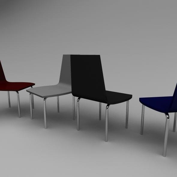 Simple Chair - 3DOcean Item for Sale