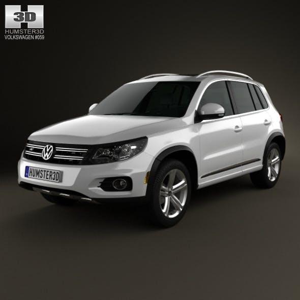 Volkswagen Tiguan Track & Style R-Line US 2013