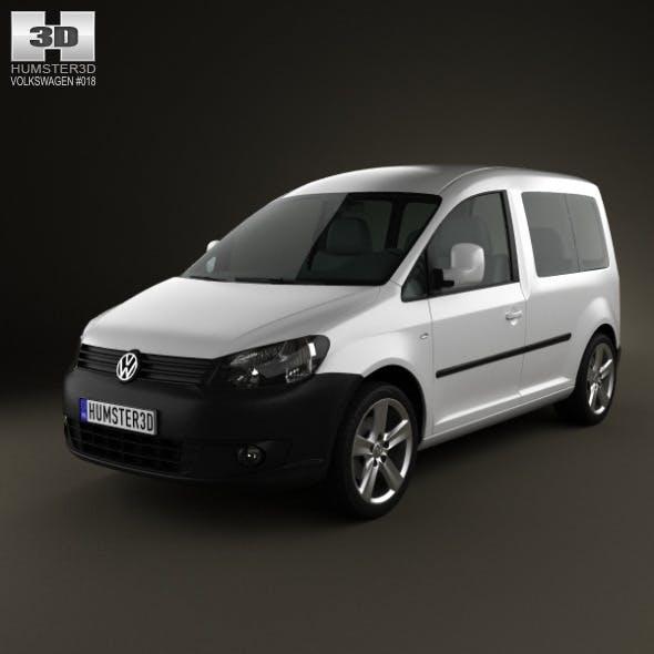 Volkswagen Caddy 2011 - 3DOcean Item for Sale