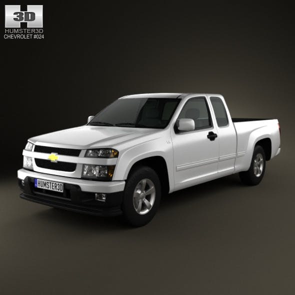 Chevrolet Colorado Extended Cab 2012 - 3DOcean Item for Sale