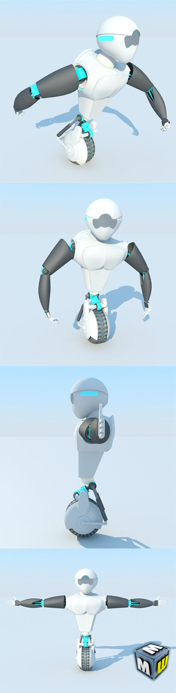 Robot MAX 2011 - 3DOcean Item for Sale